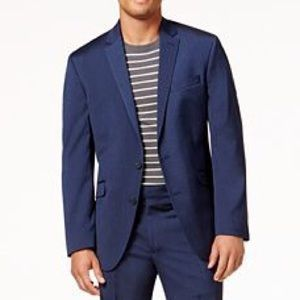 Kenneth Cole Reaction Men's Slim Fit Navy Blazer